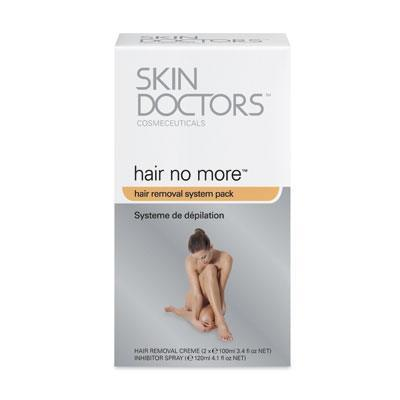SkinDoctors Hair No More - Hair Removal System Pack